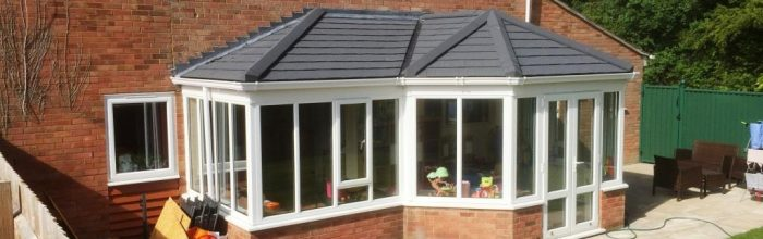 A conservatory roof conversion transformed my work space