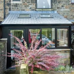Lean-To-Tiled-Conservatory-Roof-With-Sky-Lights